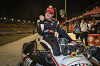 Will Power celebrates the championship