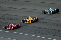 Three wide racing