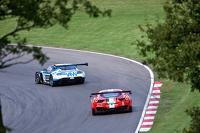 #6 PGF - Kinfaun AMR Aston Martin Vantage GT3: Phil Dryburgh, John Gaw #29 AF Corse Ferrari 458 Italia GT3: Pasin Lathouras, Matt Griffin