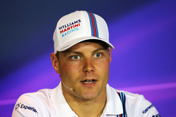F1: Valtteri Bottas, Williams in the FIA Press Conference