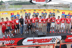 Ryan Newman, Richard Childress Racing Chevrolet visits Martinsville High School as part of Chase across North America