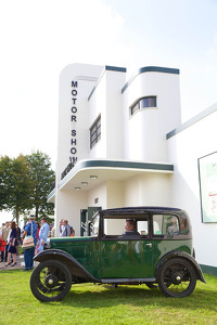 Goodwood Revival Motor Show Building
