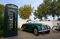 Morgan and Telephone Box