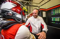 Pole winner Christopher Mies celebrates with Belgian Audi Club Team WRT team boss Vincent Vosse