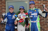 Winner Pietro Fittipaldi, second place Alex Gill, third place Piers Hickin
