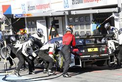 Pitstop, Christian Vietoris, Mercedes AMG DTM-Team HWA DTM Mercedes AMG C-Coupe