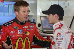 Jamie McMurray and Kyle Larson