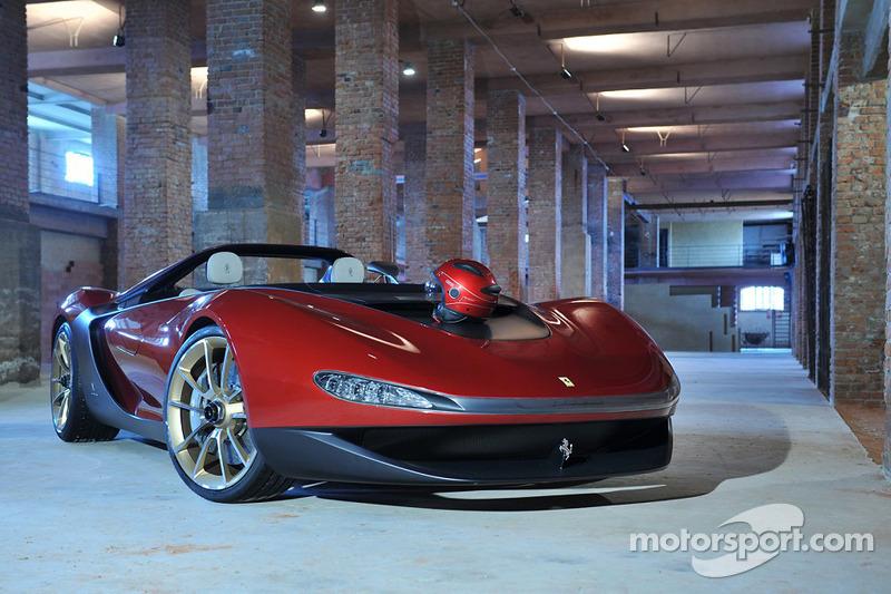 Der exklusive Ferrari Sergio, designt von Pininfarina