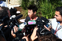 Kamui Kobayashi, Caterham with the media