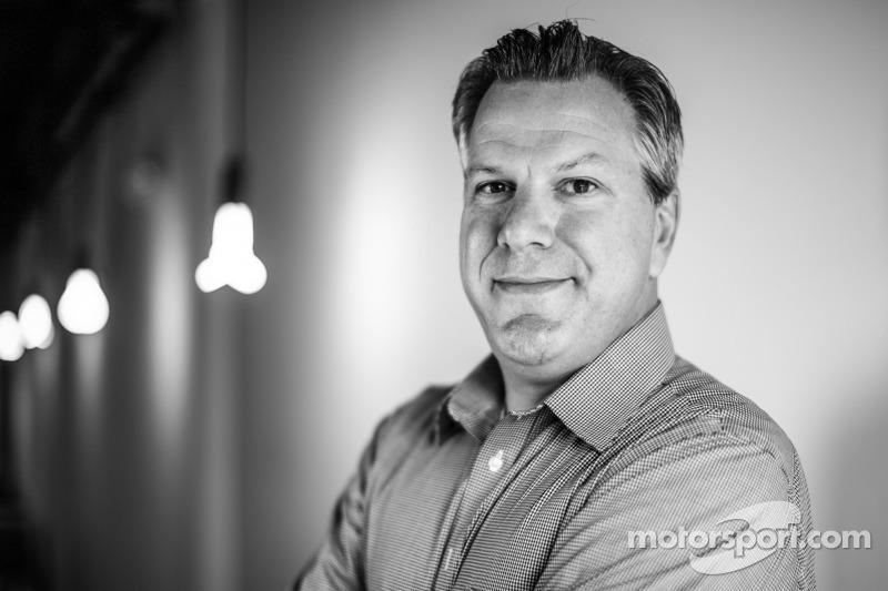 Scott Sebastian, Vizepräsident für PR und Marketing bei Motorsport.com