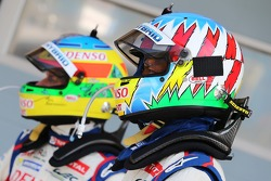 Mike Conway and Alexander Wurz