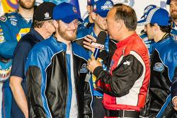 Championship victory lane: Dale Earnhardt Jr.
