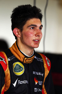 Esteban Ocon, Lotus F1 Team Test Driver