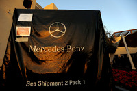Mercedes GP freight