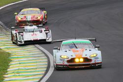 #98 AMR Aston Martin Vantage: Paul Dalla Lana, Pedro Lamy, Christoffer Nygaard