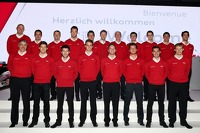 The factory Audi Sport drivers