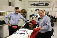 Alexander Rossi visits Dale Coyne Racing
