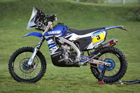 The Yamaha WR450F Rally