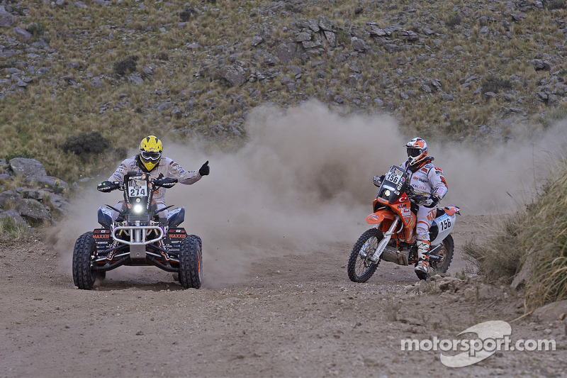 #274 Honda: Kees Koolen und #156 KTM: Sakir Senkalayci