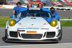 #19 Muehlner Motorsports America Porsche 911 GT America: Jim Michaelian, Matteo Beretta, Connor de Phillippi