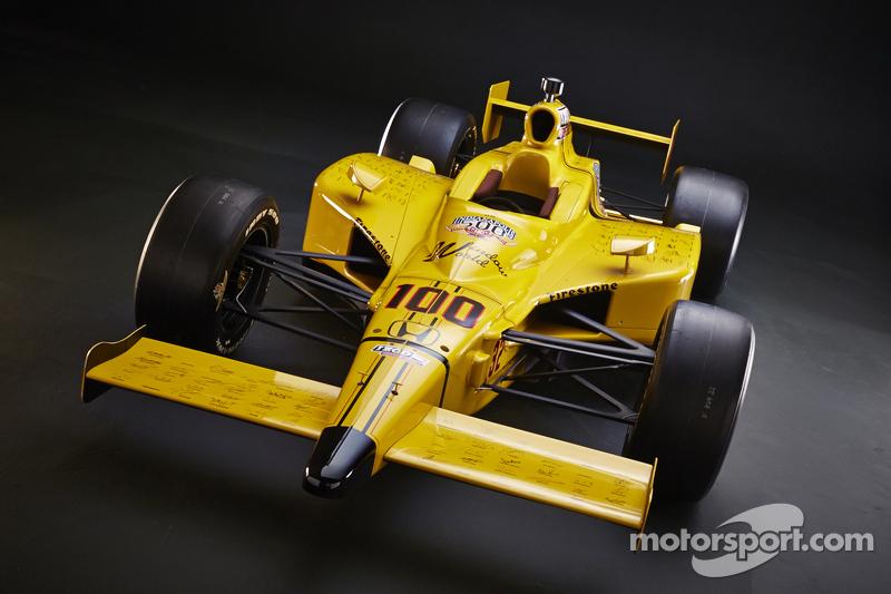 John Andrettis Auto für den guten Zweck
