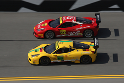 #87 Ferrari of San Diego Ferrari 458: Rich Baek, #777 Ferrari Québec Ferrari 458TP: Emmanuel Anassis