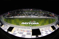Daytona International Speedway at night