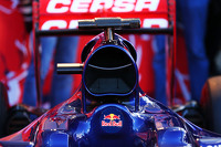 Scuderia Toro Rosso STR10 engine cover detail