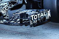 Red Bull Racing RB11 front wing detail