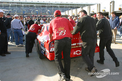 Budweiser Chevrolet crew goes to pre-race technical inspection