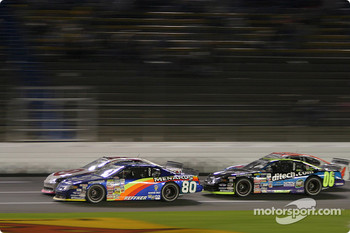 Bryan Reffner, Reed Sorenson and Kyle Krisiloff