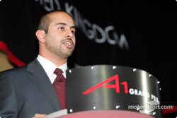 Sheikh Maktoum Hasher Maktoum Al Maktoum (UAE) CEO and President of A1 Grand Prix