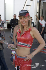 A Bridgestone girl