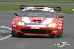 #86 Larbre Ferrari 575 Maranello: Pedro Lamy, Christophe Bouchut, Steve Zacchia
