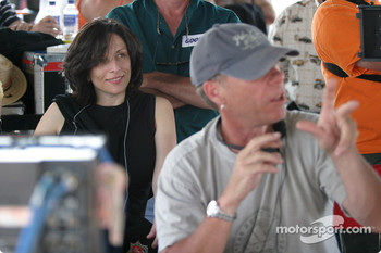 Executive Producer Orly Adelson and Director Russell Mulcahy