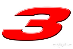 Presentation of the Dale Earnhardt made-for-television movie named '3': logo of the movie
