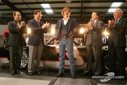 Dale unveils his trademark car: Goodwrench 3