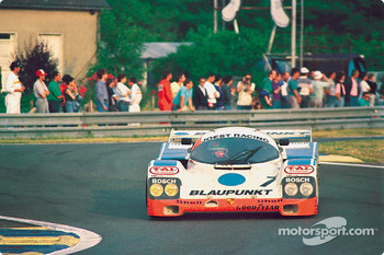 #7 Joest Porsche 962C: David Hobbs, Didier Theys, Franz Konrad