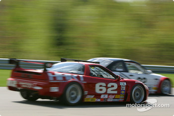 #62 Honda of America Racing Team Acura NSX: Pete Halsmer, John Schmitt