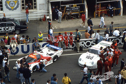 Presentation of the cars before the race