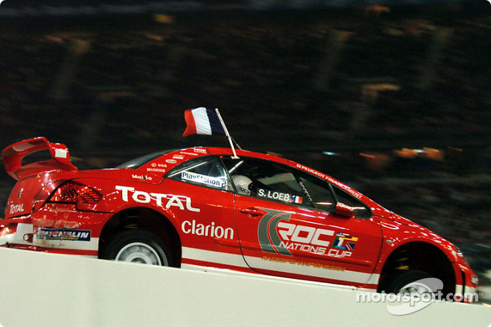 Quarter-final: Sébastien Loeb