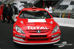 Peugeot 307 WRC on display