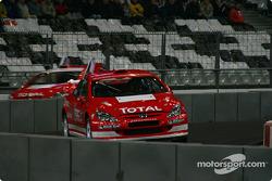 Quarter-final: Sébastien Loeb and Stephane Sarrazin