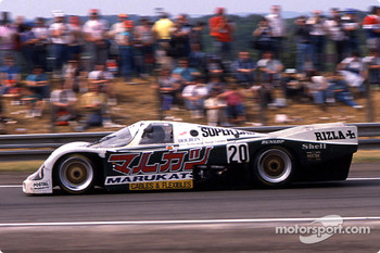#20 Team Davey Porsche 962C: Tim Lee-Davey, Tom Dodd-Noble, Katsunori Iketani