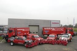 Nissan Dessoude team presentation: the complete Nissan Dessoude team