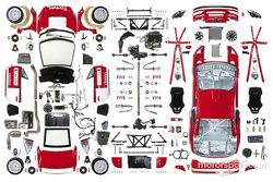 Peugeot 307WRC cutaway