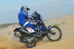 KTM team testing: Gauloises KTM rider Fabrizio Meoni