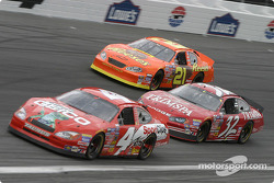Mike Wallace, David Stremme and Kevin Harvick