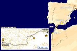 Stage 2: 2005-01-01, Barcelona to Granada