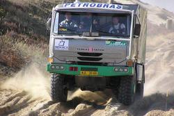 Tomas Tomecek Letka Racing Team testing: Tomas Tomecek, Michael Tanaka, Vojtech Moravek test the Tatra 815 Dakar Terrno in Slovakia